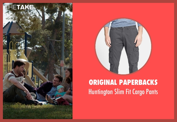 Original Paperbacks black pants from Neighbors seen with Ike Barinholtz (Jimmy)