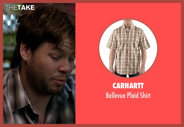 Carhartt brown shirt from Neighbors seen with Ike Barinholtz (Jimmy)