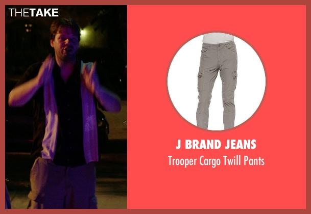 J Brand Jeans	 gray pants from Neighbors seen with Ike Barinholtz (Jimmy)