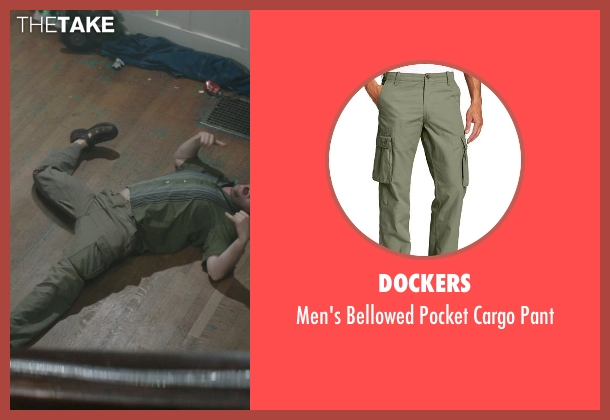 Dockers green pant from Neighbors seen with Ike Barinholtz (Jimmy)