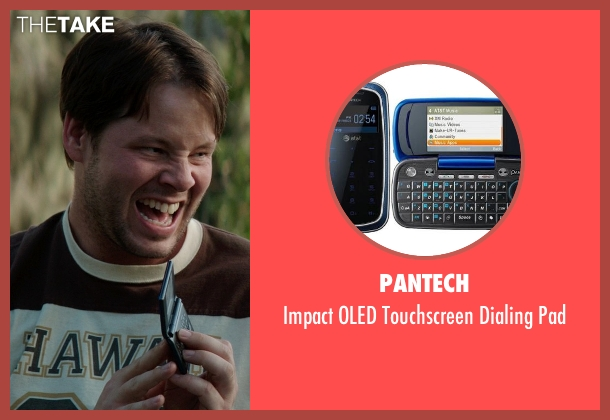 Pantech pad from Neighbors seen with Ike Barinholtz (Jimmy)