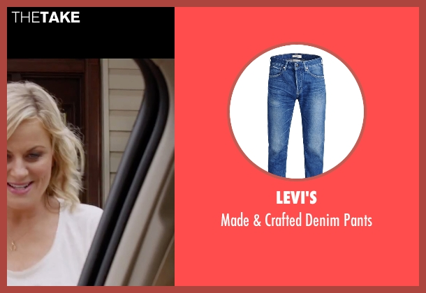 Levi's blue pants from Sisters seen with Ike Barinholtz (James)
