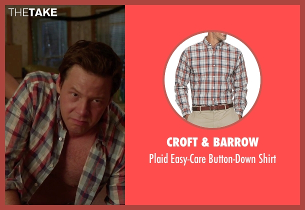 True Grit red shirt from Sisters seen with Ike Barinholtz (James)