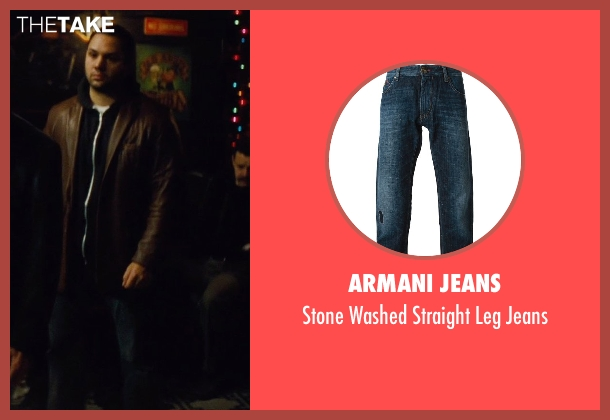 Armani Jeans blue jeans from Run All Night seen with Ilan Krigsfeld (Shawn's Crew)