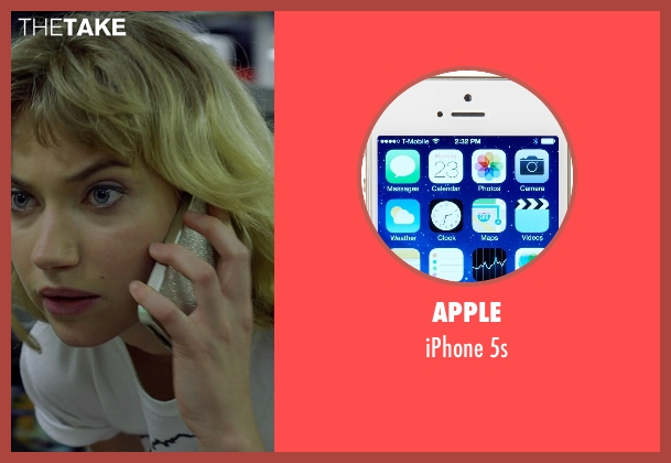 Apple 5s from Need for Speed seen with Imogen Poots (Julia Maddon)