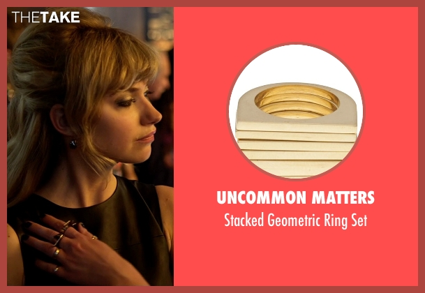 Uncommon Matters gold set from Need for Speed seen with Imogen Poots (Julia Maddon)