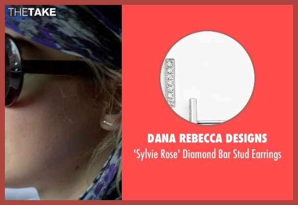 Dana Rebecca Designs silver earrings from Need for Speed seen with Imogen Poots (Julia Maddon)