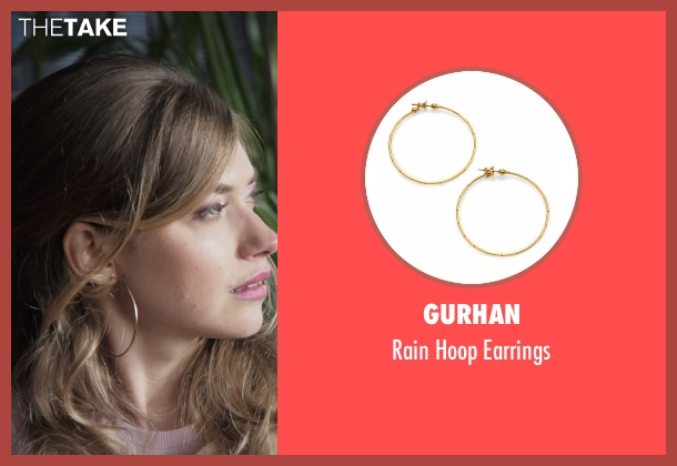 Gurhan gold earrings from Popstar: Never Stop Never Stopping seen with Imogen Poots (Unknown Character)