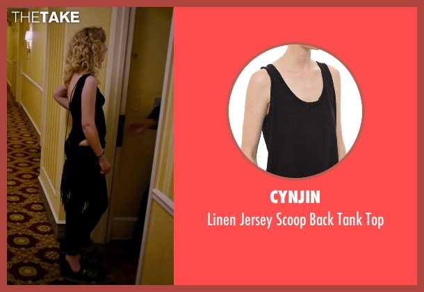 CYNJIN black top from She's Funny That Way seen with Imogen Poots (Isabella Patterson)