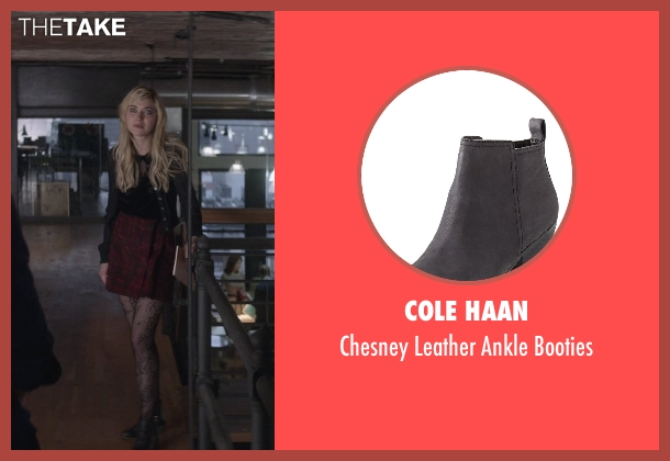 Cole Haan black booties from That Awkward Moment seen with Imogen Poots (Ellie)