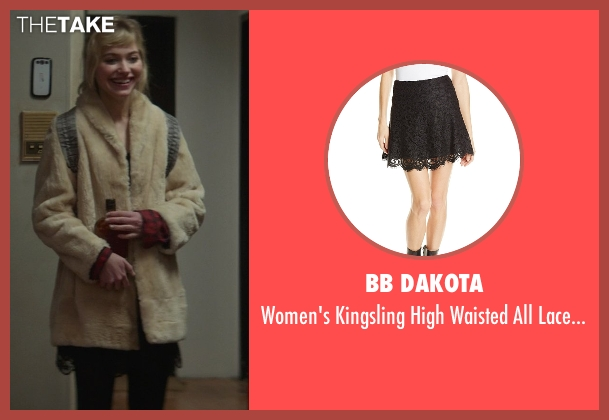 Bb Dakota black skirt from That Awkward Moment seen with Imogen Poots (Ellie)