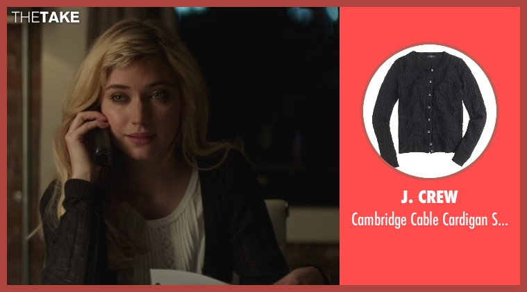 J. Crew black sweater from That Awkward Moment seen with Imogen Poots (Ellie)