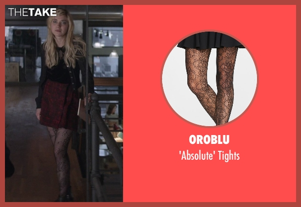 Oroblu black tights from That Awkward Moment seen with Imogen Poots (Ellie)