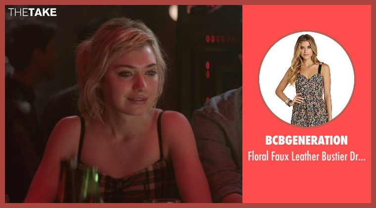 BCBGENERATION dress from That Awkward Moment seen with Imogen Poots (Ellie)