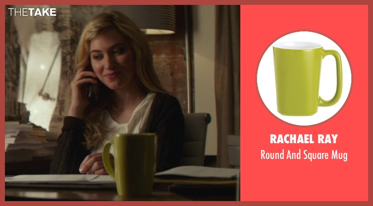 Rachael Ray mug from That Awkward Moment seen with Imogen Poots (Ellie)