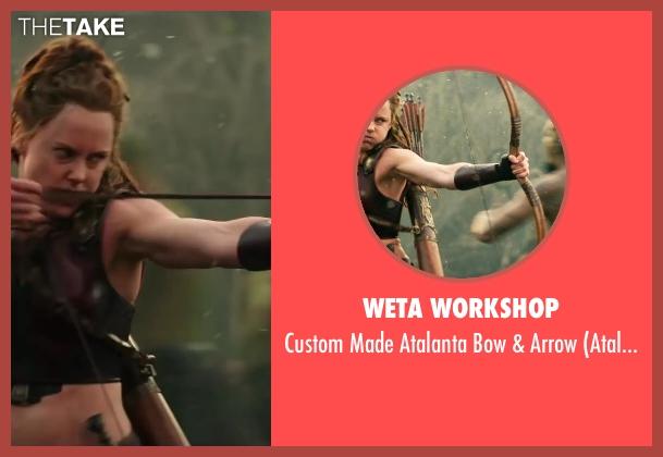 Weta Workshop arrow from Hercules seen with Ingrid Bolsø Berdal (Atalanta)