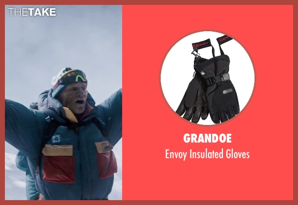 Grandoe black gloves from Everest seen with Ingvar Eggert Sigurðsson (Anatoli Boukreev)