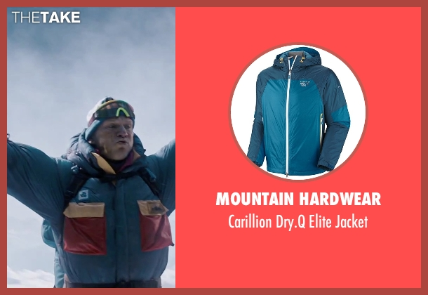 Mountain Hardwear blue jacket from Everest seen with Ingvar Eggert Sigurðsson (Anatoli Boukreev)