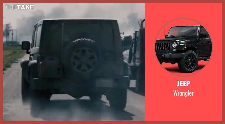 Jeep wrangler from Interstellar
