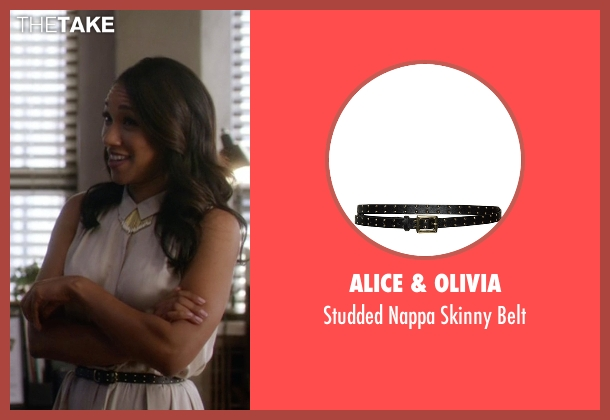 Alice & Olivia black belt from The Flash seen with Iris West / Iris West-Allen (Candice Patton)