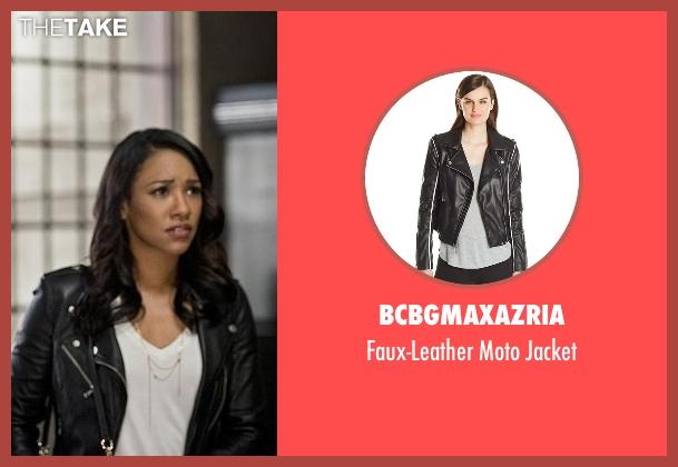 BCBGmaxazria black jacket from The Flash seen with Iris West / Iris West-Allen (Candice Patton)