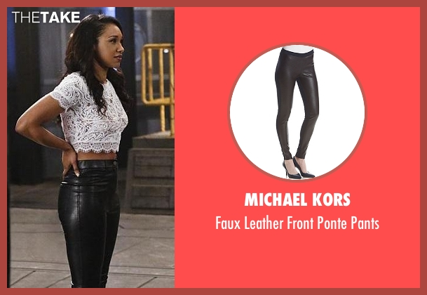 Michael Kors black pants from The Flash seen with Iris West / Iris West-Allen (Candice Patton)