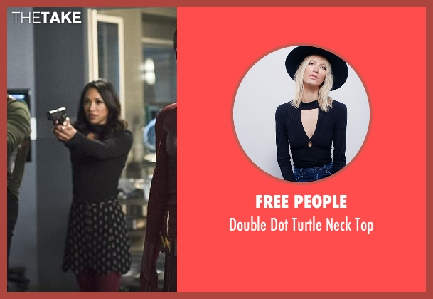 Free People black top from The Flash seen with Iris West / Iris West-Allen (Candice Patton)