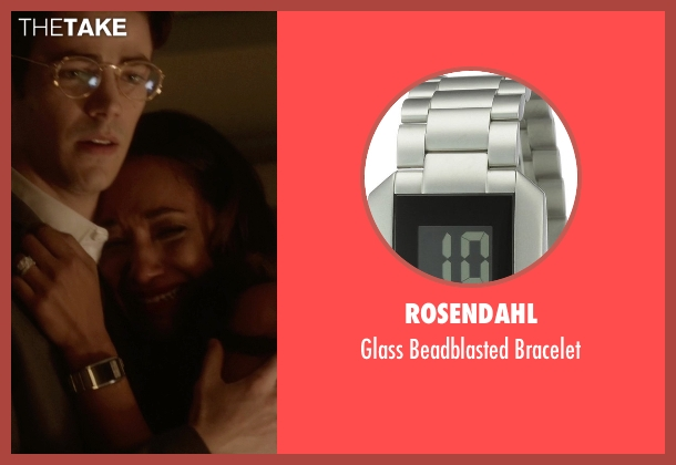 Rosendahl silver bracelet from The Flash seen with Iris West / Iris West-Allen (Candice Patton)