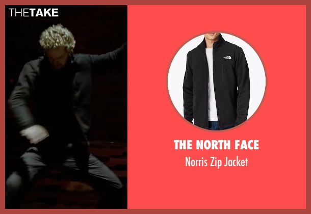 The North Face black jacket from Marvel's Iron Fist seen with Iron Fist / Danny Rand (Finn Jones)