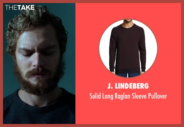 J. Lindeberg black pullover from Marvel's Iron Fist seen with Iron Fist / Danny Rand (Finn Jones)