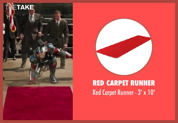 Red Carpet Runner 10' from Iron Man 3