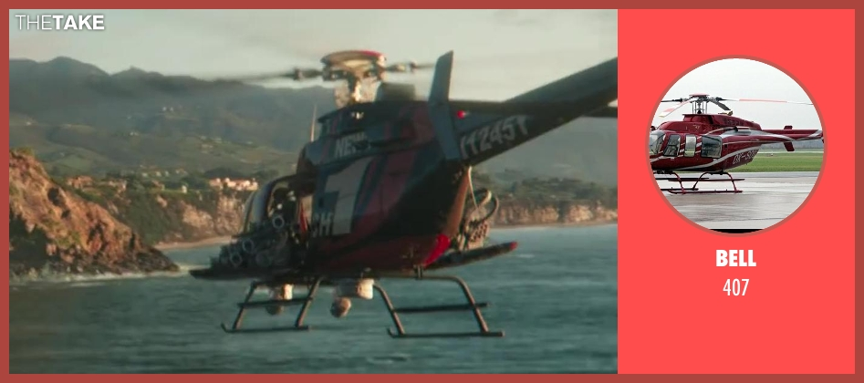 BELL 407 from Iron Man 3