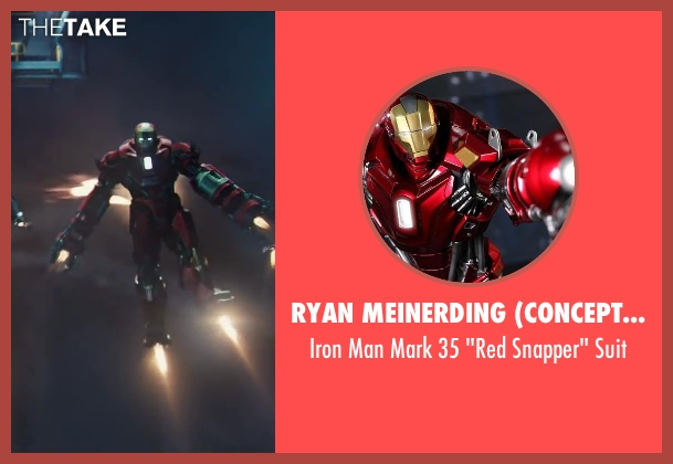 Ryan Meinerding (Concept Artist) suit from Iron Man 3