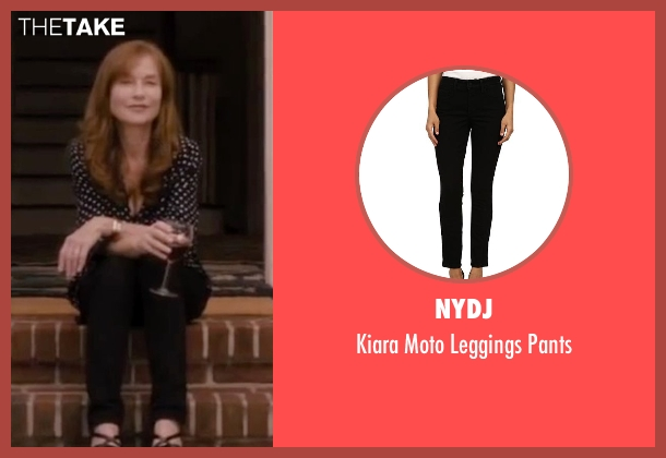 NYDJ black pants from The Disappearance of Eleanor Rigby seen with Isabelle Huppert (Unknown Character)