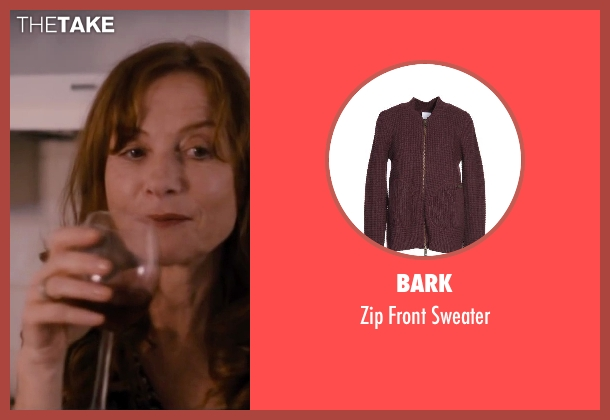 Bark brown sweater from The Disappearance of Eleanor Rigby seen with Isabelle Huppert (Mary Rigby)
