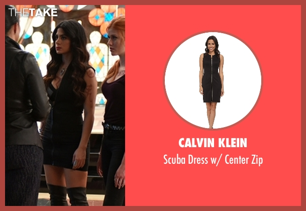 Calvin Klein  black zip from Shadowhunters seen with Isabelle Lightwood (Emeraude Toubia)