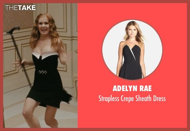 Adelyn Rae black dress from Confessions of a Shopaholic seen with Isla Fisher (Rebecca Bloomwood)