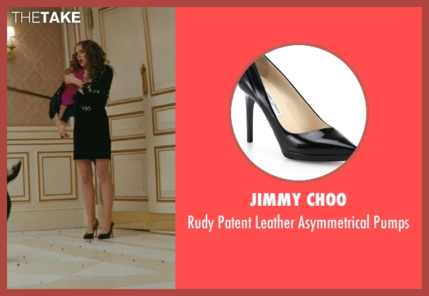 Jimmy Choo black pumps from Confessions of a Shopaholic seen with Isla Fisher (Rebecca Bloomwood)