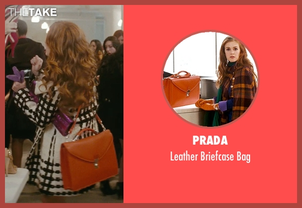Prada brown bag from Confessions of a Shopaholic seen with Isla Fisher (Rebecca Bloomwood)