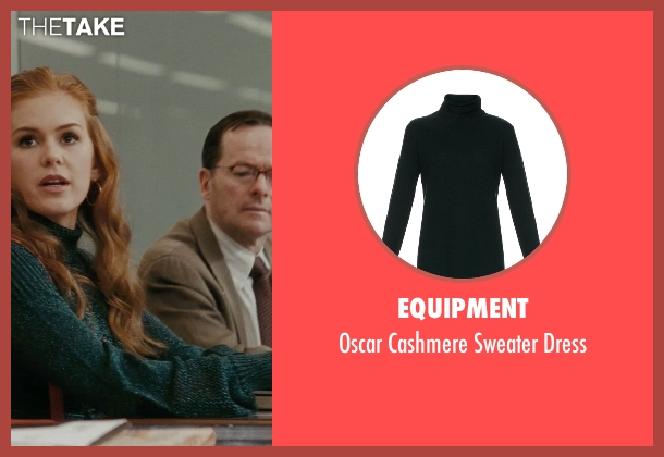 Equipment green dress from Confessions of a Shopaholic seen with Isla Fisher (Rebecca Bloomwood)