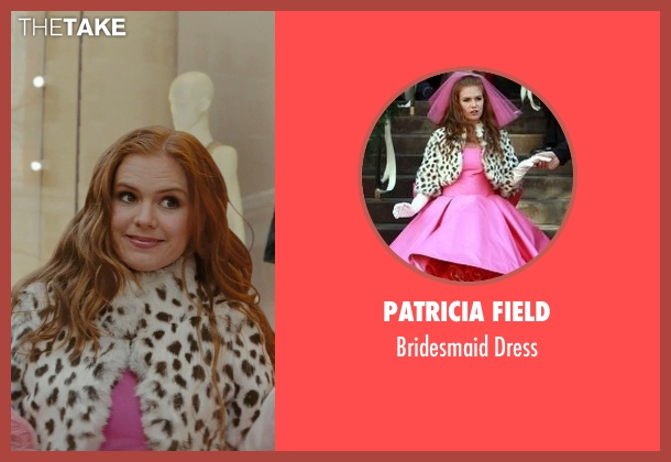 Patricia Field pink dress from Confessions of a Shopaholic seen with Isla Fisher (Rebecca Bloomwood)
