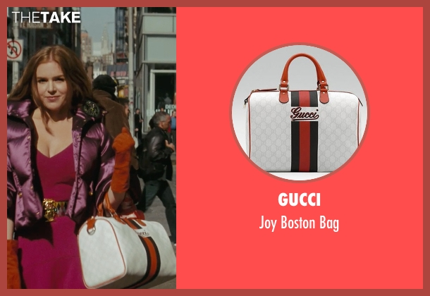 Gucci white bag from Confessions of a Shopaholic seen with Isla Fisher (Rebecca Bloomwood)