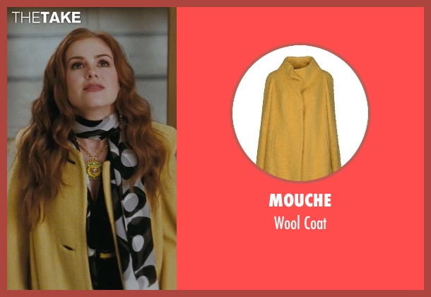 Mouche yellow coat from Confessions of a Shopaholic seen with Isla Fisher (Rebecca Bloomwood)