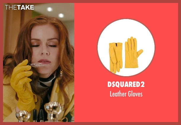 Dsquared2 yellow gloves from Confessions of a Shopaholic seen with Isla Fisher (Rebecca Bloomwood)