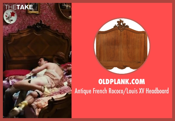 OLDPLANK.COM headboard from The Great Gatsby seen with Isla Fisher (Myrtle Wilson)