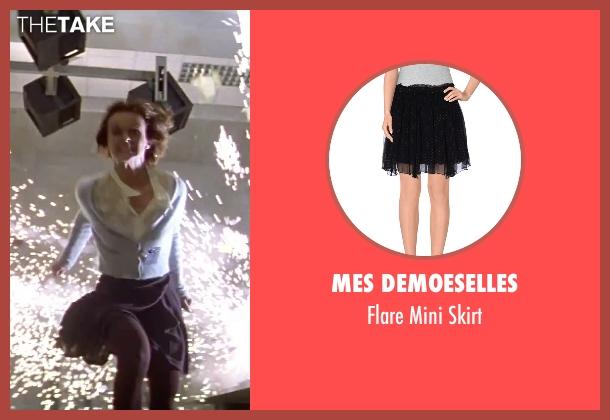 Mes Demoeselles black skirt from GoldenEye seen with Izabella Scorupco (Natalya Simonova)