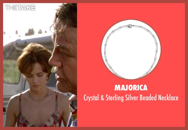 Majorica silver necklace from GoldenEye seen with Izabella Scorupco (Natalya Simonova)