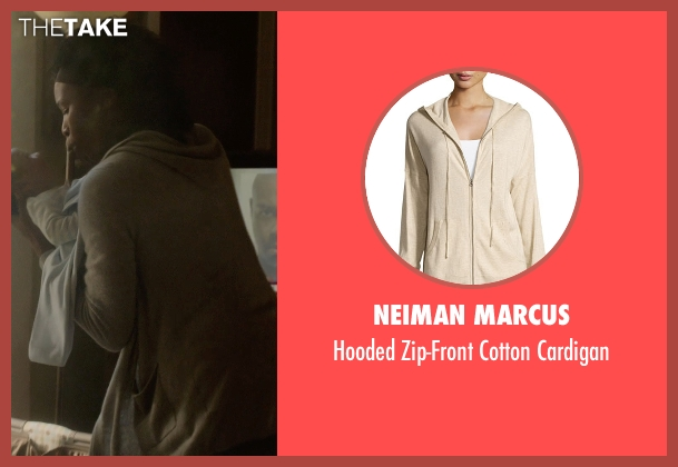 Neiman Marcus beige cardigan from Captive seen with J. Karen Thomas (Mrs. Nichols)