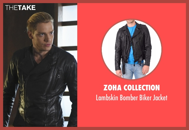 Zoha Collection black jacket from Shadowhunters seen with Jace Wayland (Dominic Sherwood)