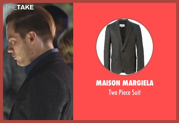 Maison Margiela gray suit from Shadowhunters seen with Jace Wayland (Dominic Sherwood)